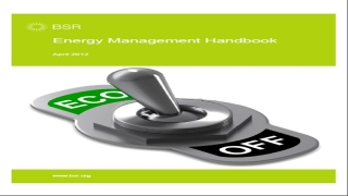Energy Management Handbook-BSR