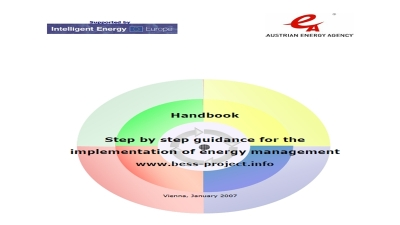 Step by step guidance for the implementation of energy management sysytem